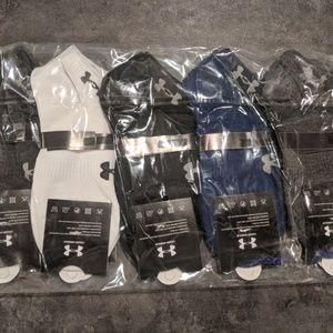 Under armour women sport socks size 6-9 10 pair